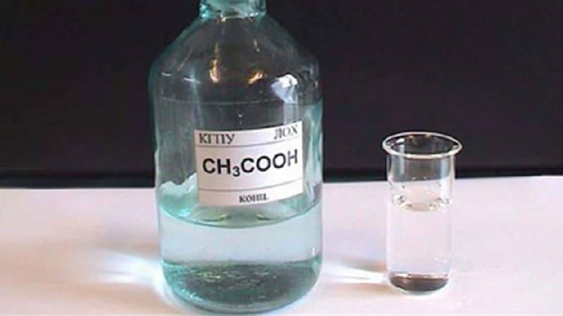 10 раствор уксусной кислоты